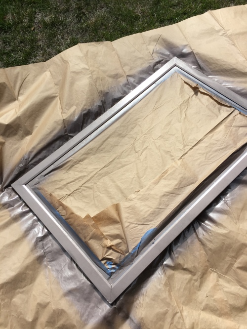 DIY A Frame, Portable Chalkboard Sign